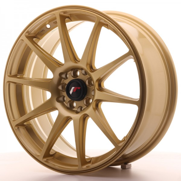 JapanRacing JR11 7,5x18 ET35 5x100/120 Gold