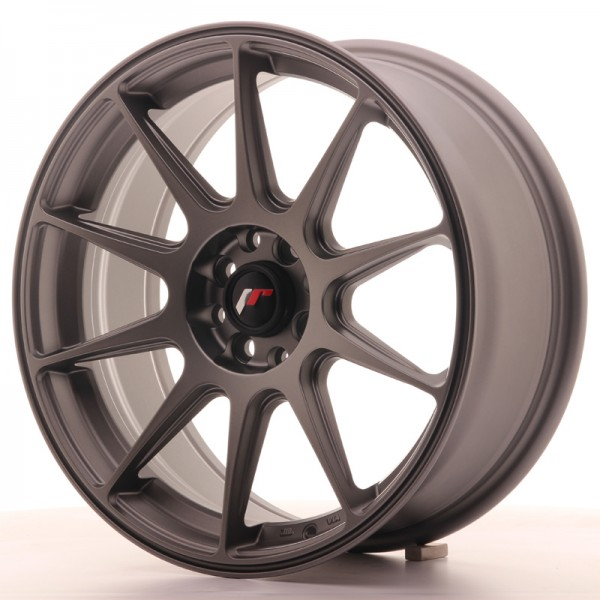 JapanRacing JR11 7,25x17 ET25 4x100/108 Gun metal