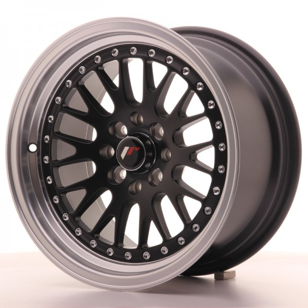 JapanRacing JR10 8x15 ET20 4x100/108 Black