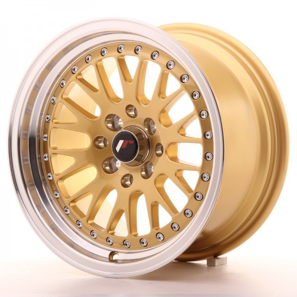 JapanRacing JR10 8x15 ET15 4x100/114 Gold