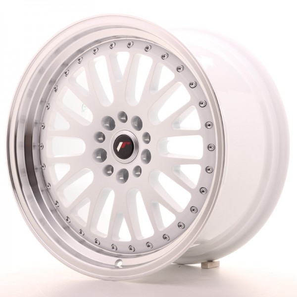 JapanRacing JR10 9,5x18 ET40 5x112/114 White