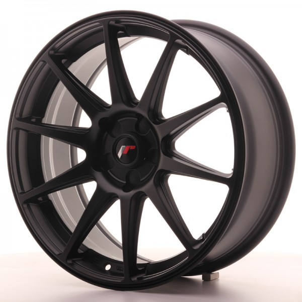 JapanRacing JR11 7,5x18 ET35-40 5H Black
