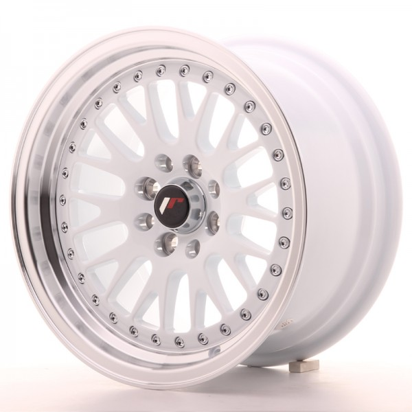 JapanRacing JR10 8x15 ET15 4x100/114 White