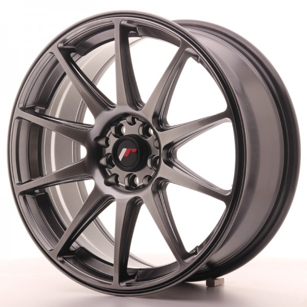 JapanRacing JR11 7,5x18 ET40 5x112/114 Hiper Black