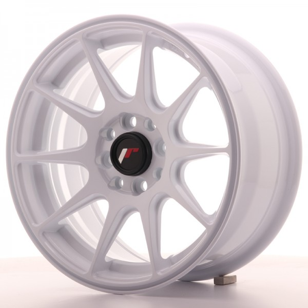 JapanRacing JR11 7x15 ET30 4x100/108 White