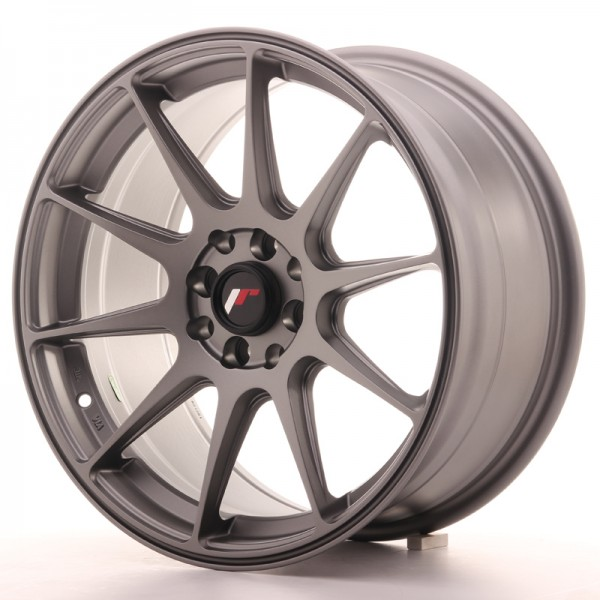 JapanRacing JR11 8,25x17 ET35 5x112/114,3 Gun metal