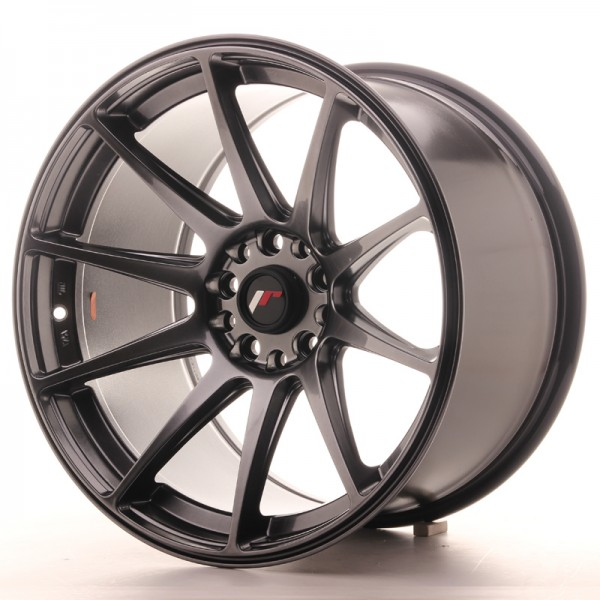 JapanRacing JR11 10,5x18 ET0 5x114/120 Hiper Black