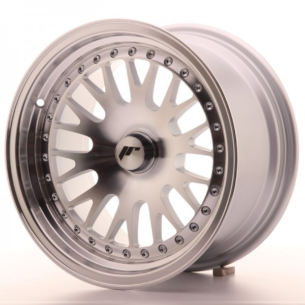 JapanRacing JR10 8x15 ET20 Blank Silver Machined Face