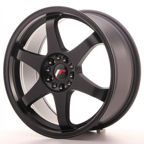 JapanRacing JR3 8x18 ET40 5x100/108 Black