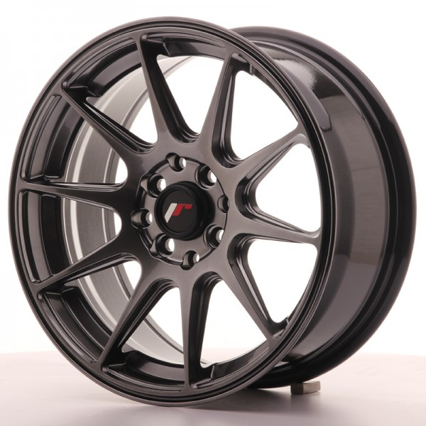 JapanRacing JR11 7x16 ET30 5x100/114 Hiper Black