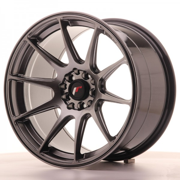 JapanRacing JR11 9,75x17 ET30 4x100/114,3 Hiper Black