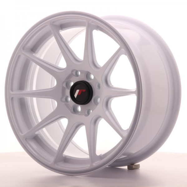 JapanRacing JR11 8x16 ET25 4x100/108 White