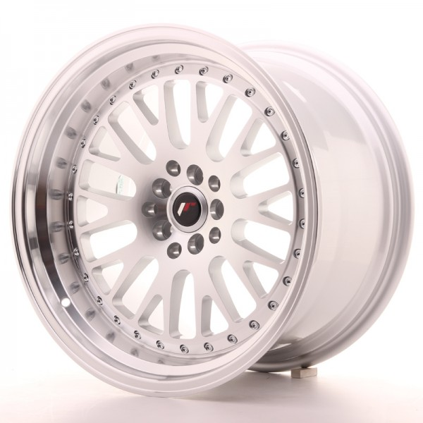 JapanRacing JR10 10,5x18 ET12 5x112/114 Machined Face Silver