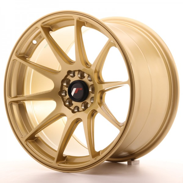 JapanRacing JR11 9,75x17 ET30 5x100/114,3 Gold