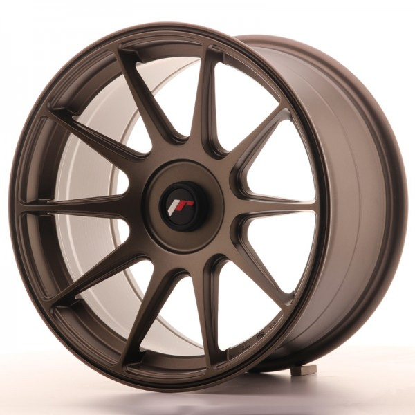 JapanRacing JR11 9x17 ET25-35 Blank Bronze