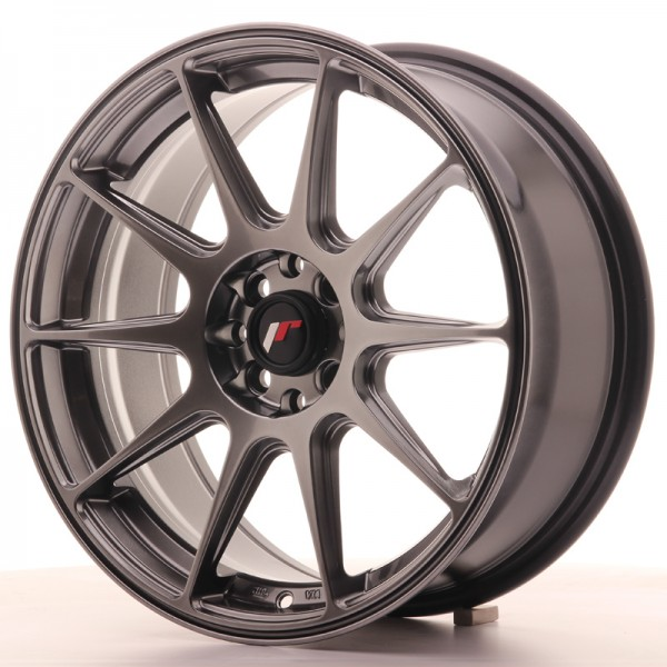 JapanRacing JR11 7,25x17 ET25 4x100/108 Hiper Black