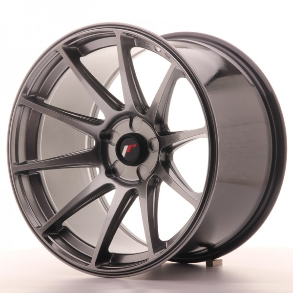 JapanRacing JR11 10,5x18 ET22 5H Hiper Black