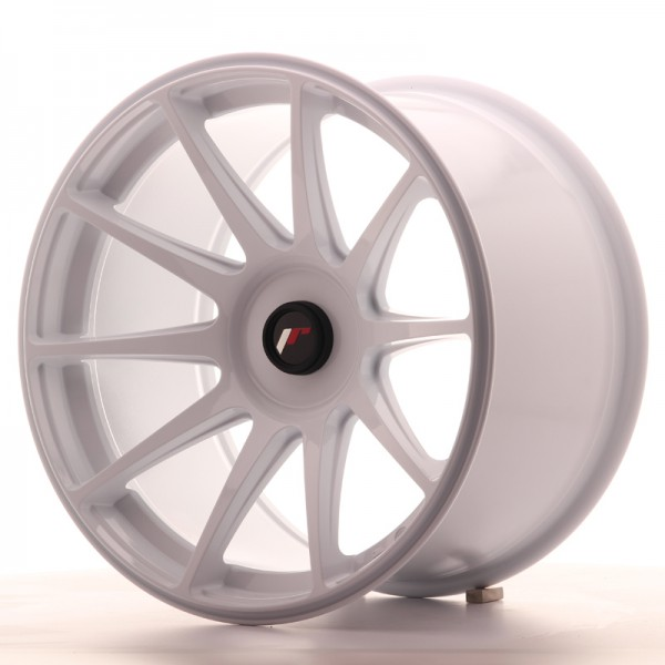 JapanRacing JR11 10,5x18 ET22 Blank White