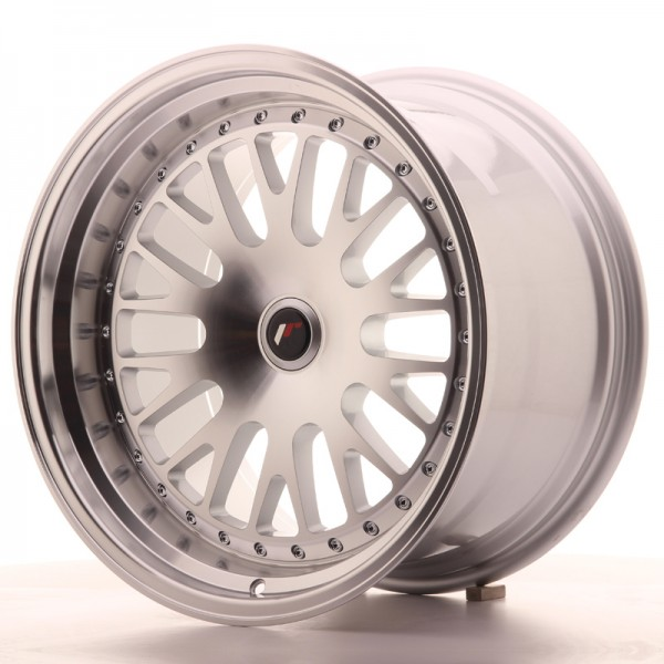JapanRacing JR10 10,5x18 ET12-25 BLANK Silver Machined Face