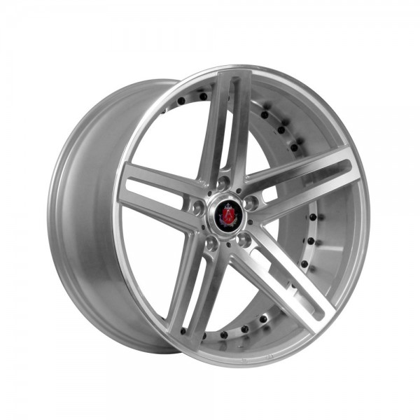 AXE EX20 22x10.5 ET38 5x130 CB74.1 SILVER / POLISHED FACE+BARREL