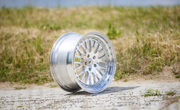 JapanRacing JR10 8,5x18 ET40-45 Blank Silver Machined Face