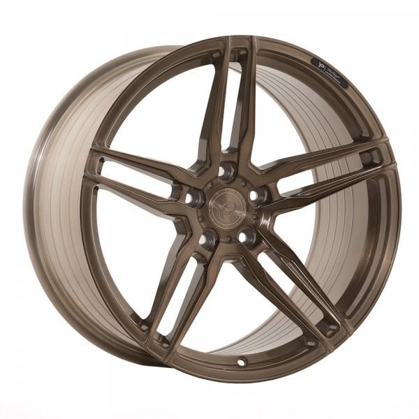 Yido Performance YP-FF1 FlowForged 10x20 ET35 5x120 72.6 Brushed Bronze