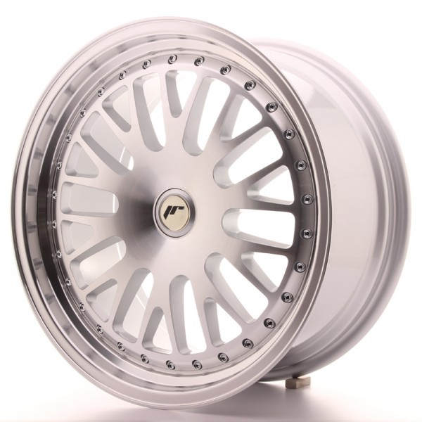 JapanRacing JR10 8,5x18 ET20-45 Blank Machined Face Silver