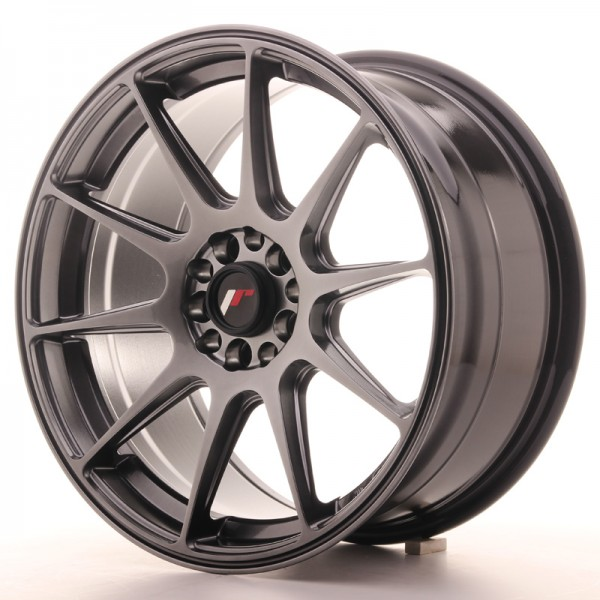 JapanRacing JR11 8,25x17 ET35 5x112/114,3 Hiper Black