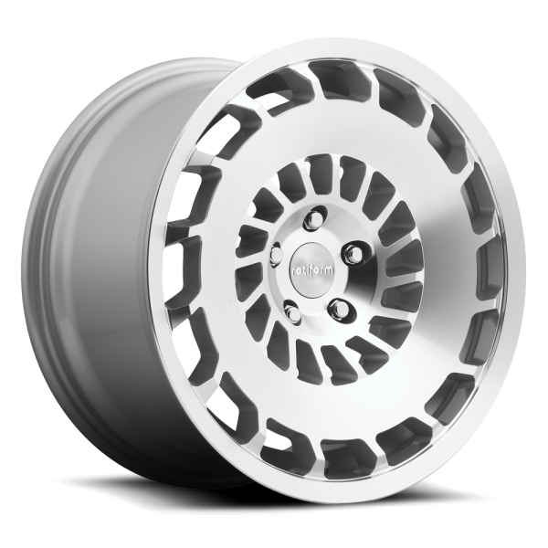 ROTIFORM CCV 19x8.5 5x112 ET35 Left CB66.5 MS-SilverMachined BALL