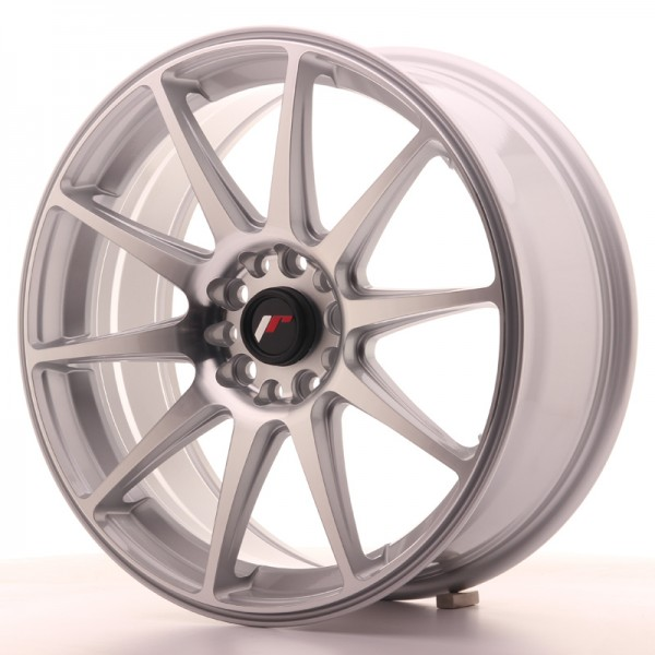 JapanRacing JR11 7,5x18 ET35 5x100/120 Silver Machined Face