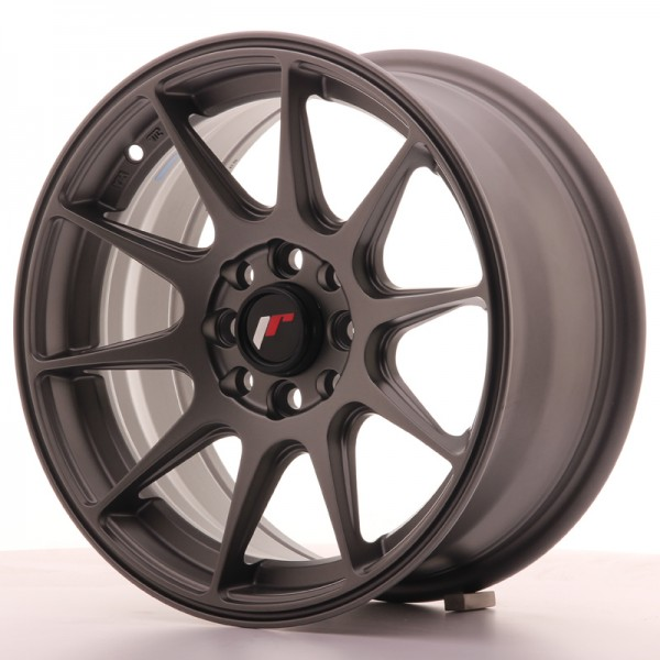 JapanRacing JR11 7x15 ET30 4x100/108 Gun metal