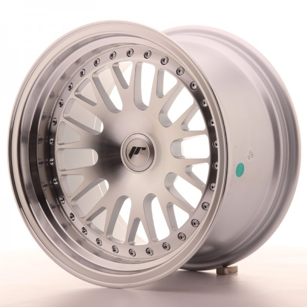 JapanRacing JR10 9x16 ET20 Blank Silver Machined Face