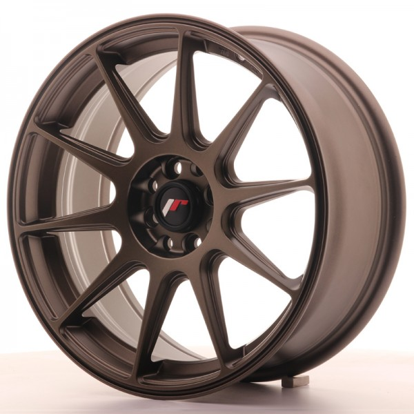 JapanRacing JR11 7,25x17 ET35 5x112/114,3 Bronze
