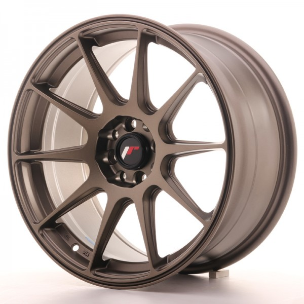 JapanRacing JR11 8,25x17 ET35 5x100/108 Bronze