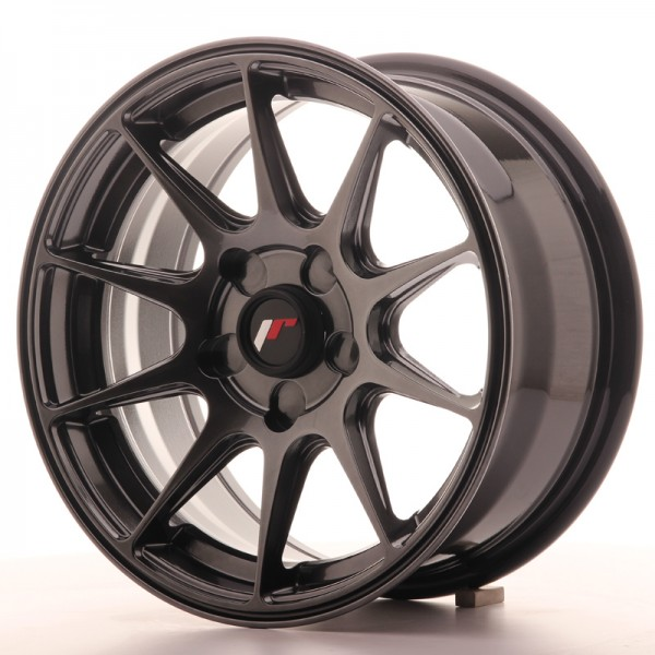 JapanRacing JR11 7x15 ET30 5H Hiper Black