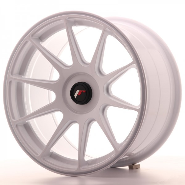 JapanRacing JR11 9x17 ET25-35 Blank White