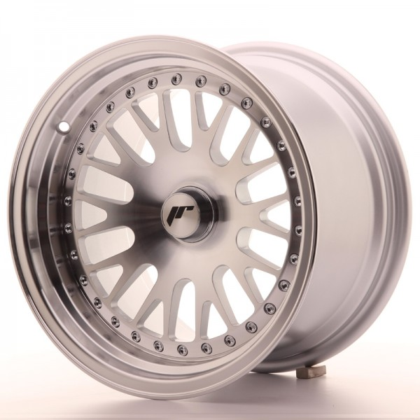 JapanRacing JR10 9x15 ET20 Blank Machined Face Silver