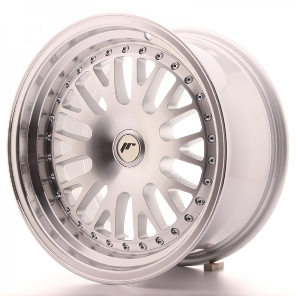 JapanRacing JR10 8x16 ET20 Blank Silver Machined Face