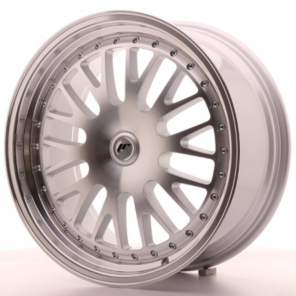 JapanRacing JR10 8,5x19 ET20-35 Blank Silver Machined Face