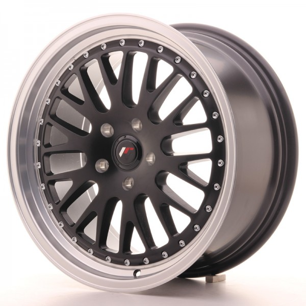 JapanRacing JR10 8,5x18 ET40-45 Blank Black