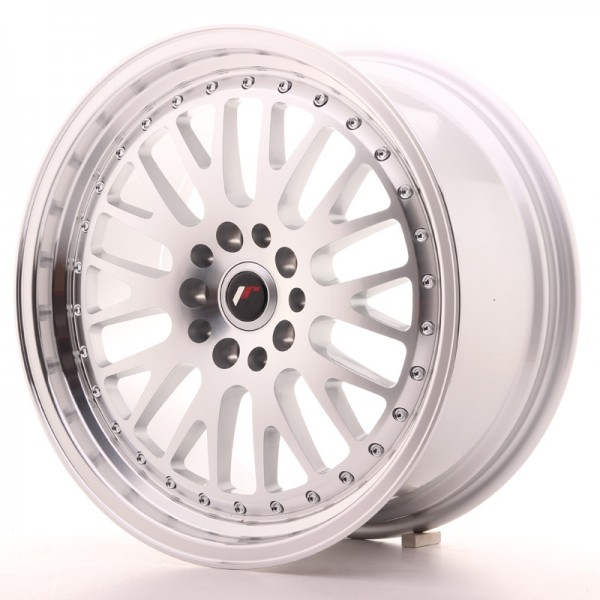 JapanRacing JR10 8,5x18 ET45 5x112/114 Silver Machined Face
