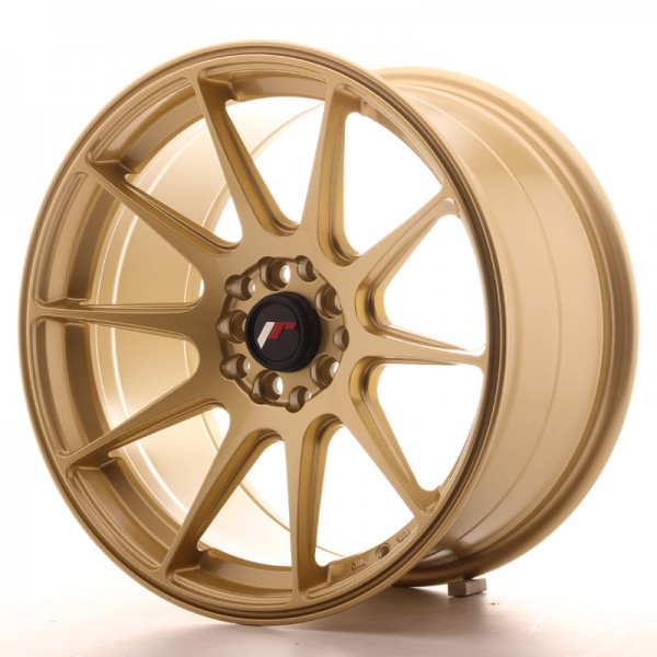 JapanRacing JR11 9x17 ET35 5x100/114 Gold