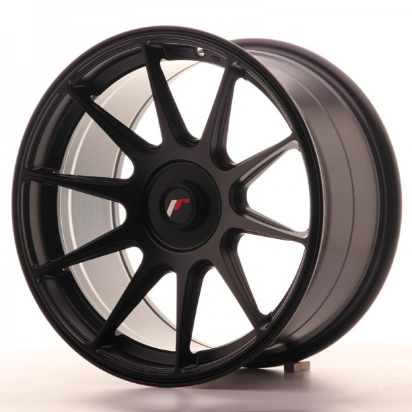 JapanRacing JR11 9x17 ET25-35 Blank Black