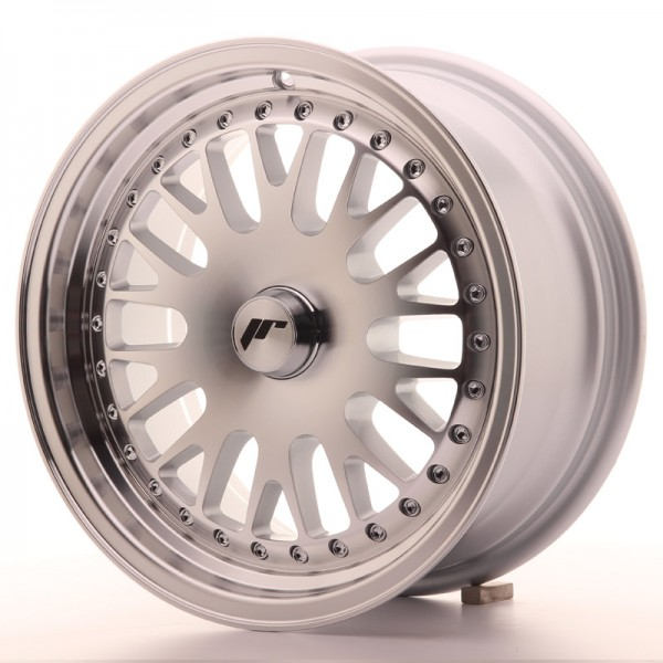 JapanRacing JR10 7x15 ET30 Blank Machined Face Silver