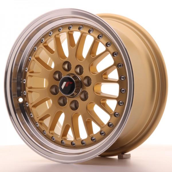 JapanRacing JR10 7x15 ET30 4x100/108 Gold