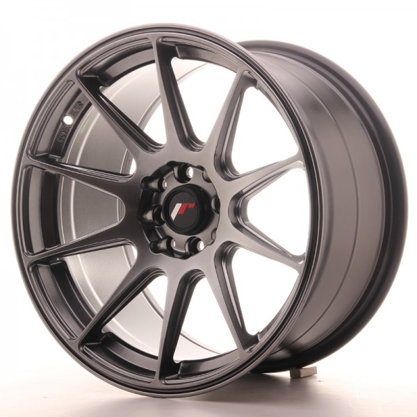 JapanRacing JR11 9x17 ET25 4x100/108 Hiper Black