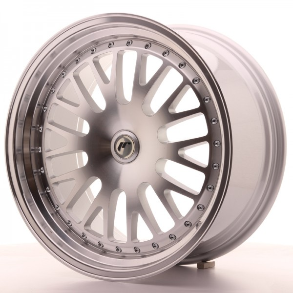 JapanRacing JR10 9,5x19 ET20-35 Blank Machined Face Silver