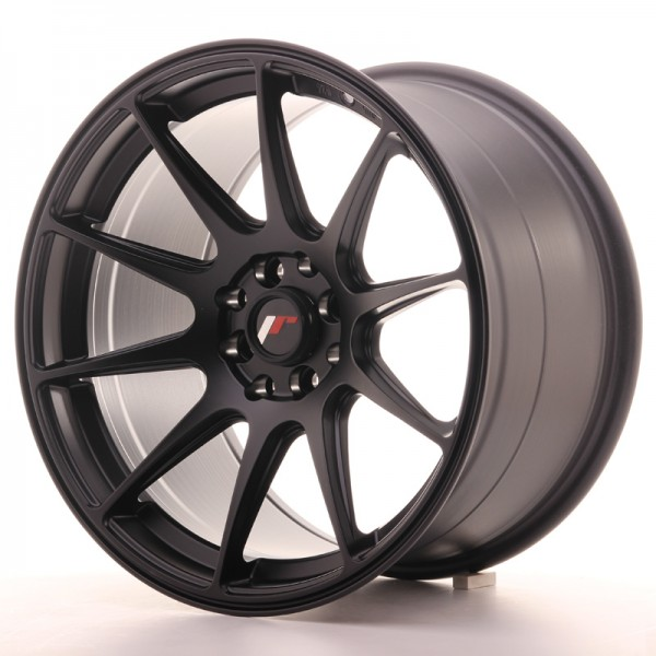 JapanRacing JR11 9,75x17 ET30 4x100/114,3 Black