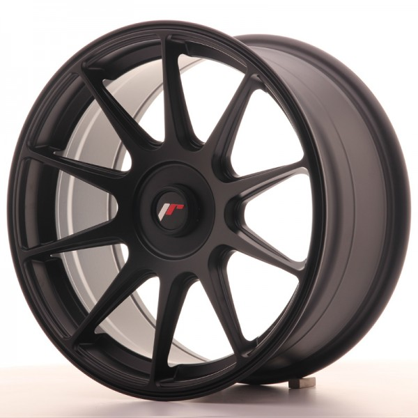JapanRacing JR11 8,25x17 ET35 Blank Black
