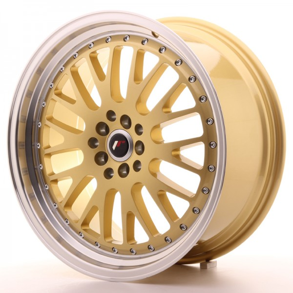 JapanRacing JR10 8,5x19 ET35 5x112/114 Gold